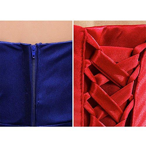 Damen Damen Drasawee Empire Blau Empire Drasawee Kleid qtZxwnpx