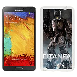 Fashionable Custom Designed Samsung Galaxy Note 3 N900A N900V N900P N900T Phone Case With Titanfall Game Titan_White Phone Case
