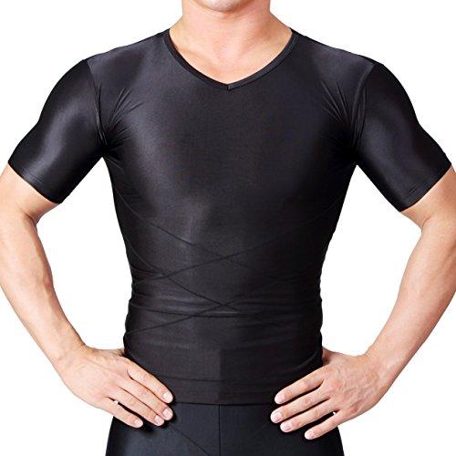 【SPALTAX】 가압 셔츠 하드 가압 이너 강력 Compression 웨어 흡수 속건자세 교정 맨즈 스포츠