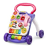VTech Sit-to-Stand Learning Walker, Lavender - Amazon Exclusive (Frustration ...