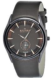 Skagen Men's 808XLDLD Stainless Steel Brown Dial Watch