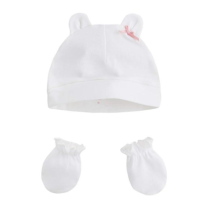 Canada House pack gorro con manoplas recién nacido minipin, talla S ...