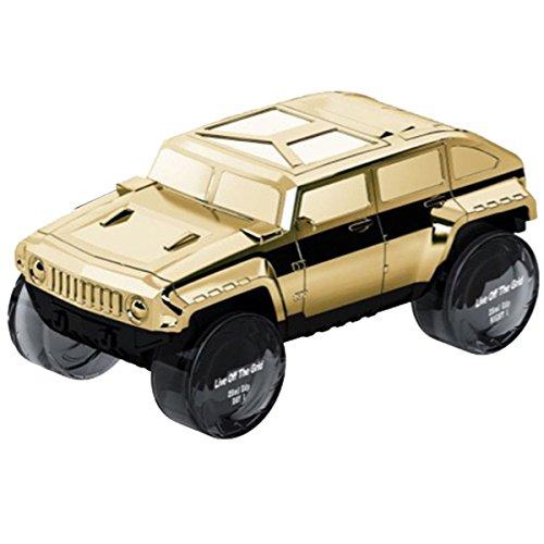 - Funny Bottle SUV Gold Eau De Parfum for Men 4 x 25 ml