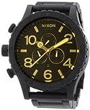 Nixon Unisex 51-30 Black/Orange Tint Watch, Watch Central