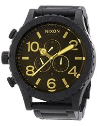 Nixon Men's 51-30 A0831354 Black Stainless-Steel Quartz Watch