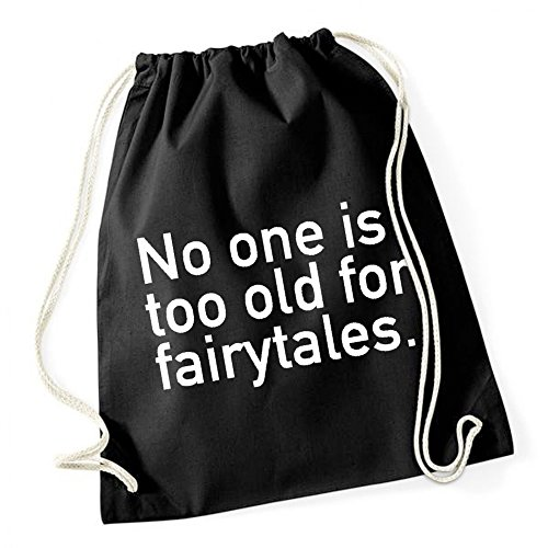 No One Is To Old For Farytales Gymsack Black Certified Freak 7yvxNf2fX