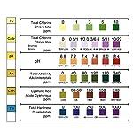 FORMIZON-6-in-1-Piscina-Test-Strisce-100-Strisce-per-Test-Piscina-Pool-di-Test-PH-Acqua-Potabile-PHCloroAlcalinita-Durezza-Dell-Acqua-Strumento-di-Test