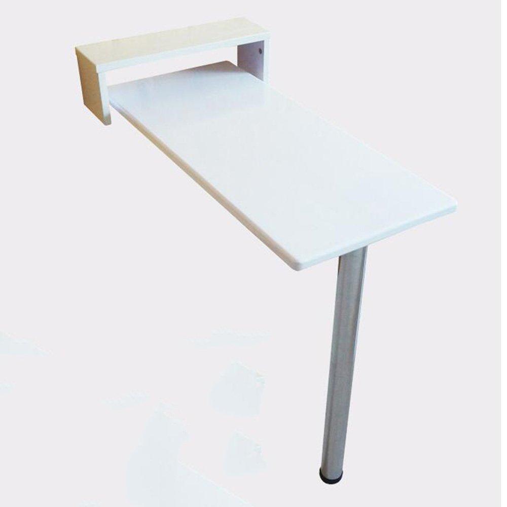XIAOLIN スモールバーテーブルソリッドウッドダイニングテーブルウォールノルディックフォールディングテーブルデスクラウンドホワイトバーカウンターウォールテーブルウォールテーブルホワイト (サイズ さいず : 85*30*80cm) B07DWYQ83H 85*30*80cm 85*30*80cm