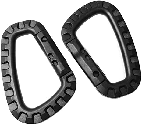 Hooks Outdoor Carabiner Spring Oval Rings Bag Belt Buckles Handbags Clips