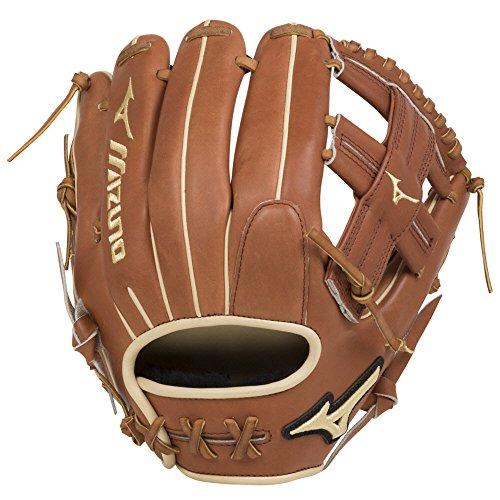 - Mizuno GPS1-600R Pro Select Pro Select Baseball Glove, Size 11.75, Brown, Right Hand Throw