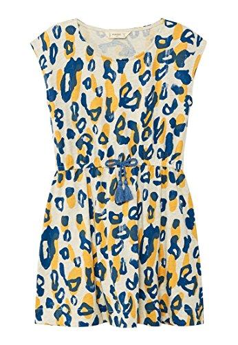 mango animal print dress - 1