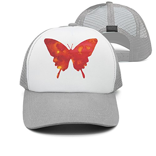 Wings Mens Xt (Eoyles Red Butterfly Adjustable Size Visor Hat Fitted Cap Flat Brim Unisex Bucket-Hats)