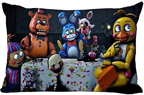 Gifts For Life Five Nights At Freddy S Pillow Cover Bedroom Home Office Deco Amazon Ca Home Kitchen
