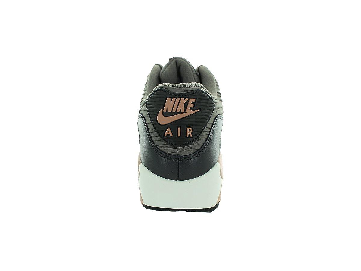 info for e3b12 b387a Nike Air Max 90 Leather Women Schuhe iron-metallic red bronze-dark  storm-sail - 42  Amazon.co.uk  Shoes   Bags