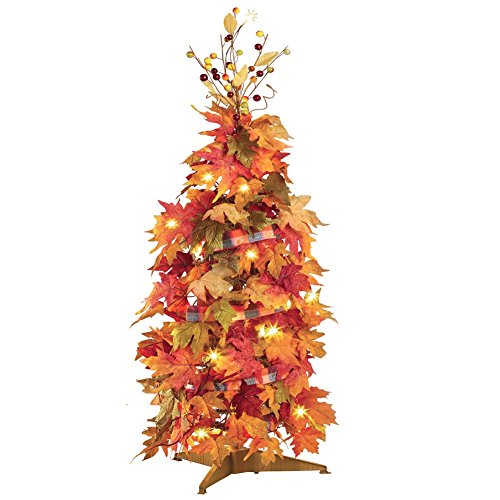 Fall Harvest Lighted Collapsible (Fall Outside Decorations)