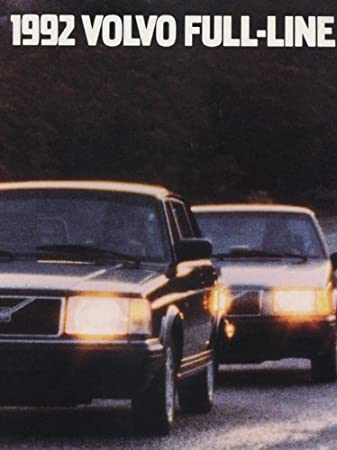 1992 Volvo Sales Brochure 960 940 Turbo 240 740