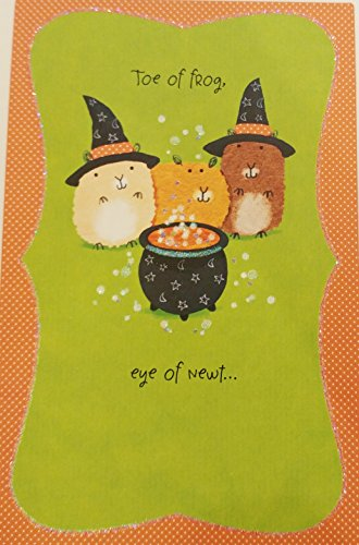 Must Be Magic - You're So Cute! Happy Halloween Greeting Card - Romantic Romance Flirty (Halloween Pumpkin Note Cards)