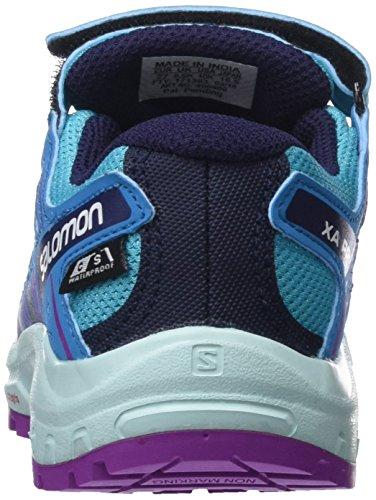 Blue Fjord Salomon Bluebird XA Cactus Flower Mixte Trail de Chaussures K Purple CSWP Enfant Pro 3D Bleu HOBHpqA