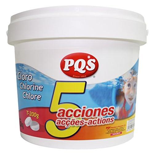 Haz clic aquí para comprobar si este producto es compatible con tu modelo Cloro 5 acciones tabletas 200grs 5kg PQS