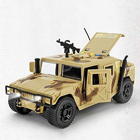 Knmbmg Carro Militar Grande for niños Niño Simulación Jeep ...