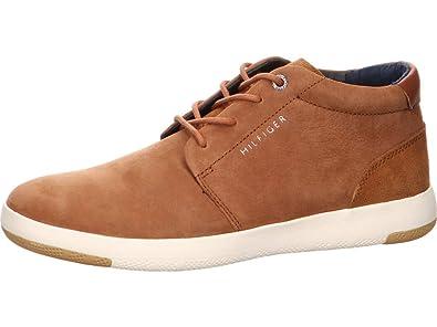 new arrivals 3dea0 ef6ad Tommy Hilfiger Herren Sneaker 1716 FM0FM01716 606 braun 551791