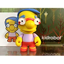 Simpsons Series 2 Kidrobot Milhouse New W/Box Foil & Card by Simpsons series 2 Kidrobot