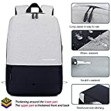LACATTURA Unisex Simple Laptop Backpack for