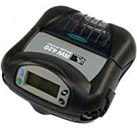 Zebra R4D-0UBA000N-00 RW 420 Direct Thermal Mobile Receipt and Label Printer, 203 DPI, With Bluetooth 2.0 Connection