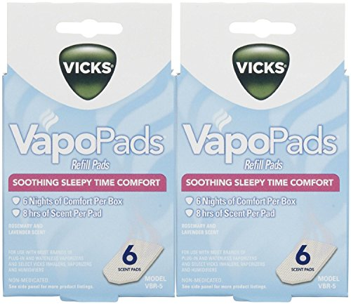 - Vicks VapoPads Baby Rub Waterless Vaporizer Pads - Pack of 2 (Packaging may vary)