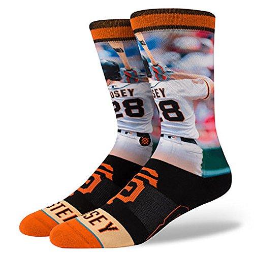 Stance Men's Buster Posey Socks Orange L