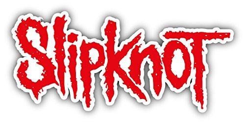 - Slipknot Slogan Logo Car Bumper Sticker Decal 6'' x 3''