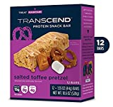 12 Toffee Pretzel Crisp Best Tasting Low Carb Protein Bars – 15g Protein, 7g Net Carb, 4g Sugar Review