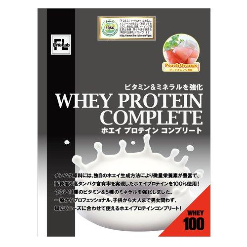 ファインラボ ホエイプロテインコンプリート 3kg(ピーチオレンジ味) B0069HQN2C