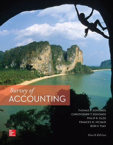 Loose Leaf Survey of Accounting with Connect Access Card ...