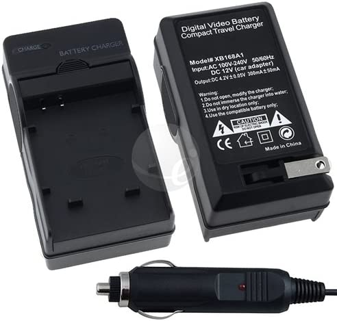 eForCity Canon CB-2LV AC/DC Charger for NB-4L Battery for Canon ...