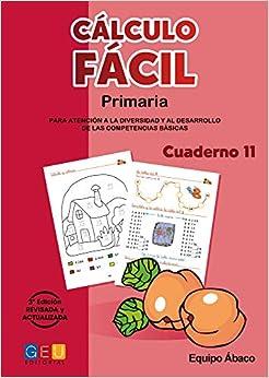Descargar Libro Gratis Cálculo Fácil - Cuaderno 11 PDF Gratis En Español