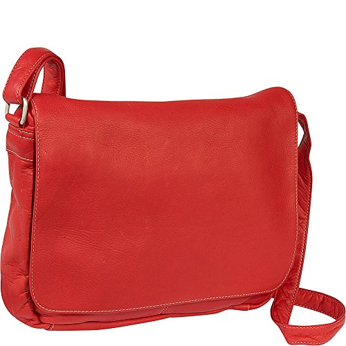 LeDonne Leather Company Flap Over Bag (Vacquetta Shoulder Leather Bag)