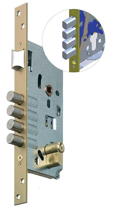 Mcm 601M-2508A311 - Cerradura recto entrada 50 e:30-30 oro