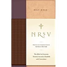 NRSV, Standard Catholic Edition Bible, Anglicized, Hardcover, Tan/Red: The Bible for Everyone: Trusted, Accurate, Readable