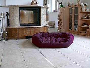 Frodo - Cama para perros Perros sofá perro longue Espacio L 110 x 80 oscuro púrpura nº 28: Amazon.es: Productos para mascotas