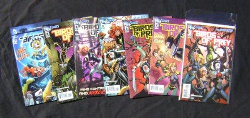 DC Comics BIRDS OF PREY #1-7 The new 52 First Prints