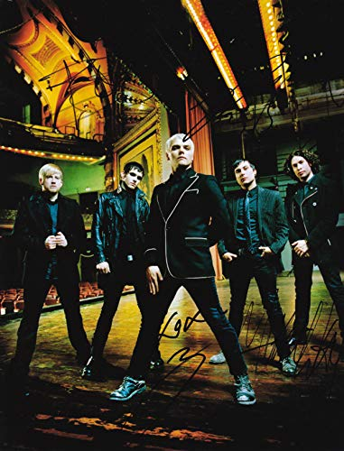 My Chemical Romance band reprint signed autographed photo #1 RP