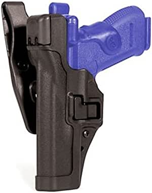 Blackhawk 44H106BK-L Level 3 SERPA Auto Lock Duty Holster, Black