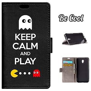 BeCool® - Funda carcasa tipo Libro para Vodafone Smart Prime 7 protege tu Smartphone ya que se adapta a la perfección, tiene Función Soporte, ranuras para tus tarjetas y billetes sin olvidar nuestro exclusivo diseño
