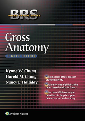BRS Gross Anatomy (Board Review Series) Pdf