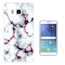 C0803 - Cool Bloggers Favourite White Marble Effect Design Samsung Galaxy A5 A500M - 2015 Fashion Trend CASE Gel Rubber Silicone All Edges Protection Case Cover