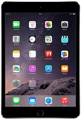 Apple iPad Mini 3 MGNR2LL/A NEWEST VERSION (16GB, Wi-Fi, Space Gray) (Certified Refurbished)