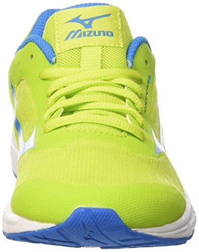 Niños Synchro Mizuno Para jasminegreen Running Zapatillas Jnr De blueaster limepunch Multicolor B1167qw