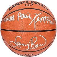 $249 » Larry Bird Robert Parish Kevin McHale Boston Celtics TRIPLE Signed Autograph NBA Game Basketball JSA & Steiner Sports Certified