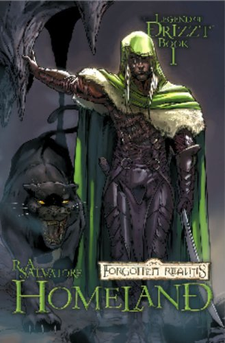 Download Forgotten Realms  the Legend of Drizzt  Book 1: Homeland PDF
